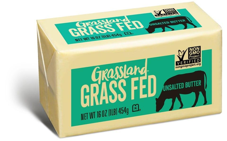 Grassland Grass Fed Non-GMO Project Verified Butter