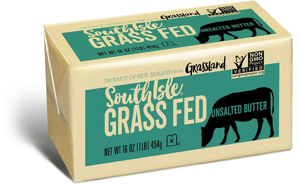 South Isle® Grass Fed Butter